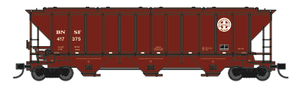 Trainworx 24439-01 BNSF Repaint PS2CD high side covered hopper N scale #416880