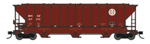 Trainworx 24439-02 BNSF Repaint PS2CD high side covered hopper N scale #416893