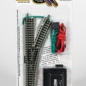 Bachmann N 44862 RH Remote Turnout Nickel Silver EZ-track