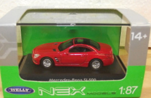 NEX 30000098 Mercedes-Benz SL500 HO scale