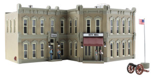 Woodland Scenics BR4930 Municipal Building N scale Built-Up
