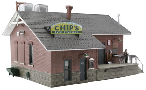 Woodland Scenics BR4927 Chip's Ice House N scale Built-Up