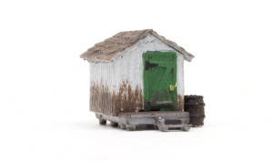 Woodland Scenics BR4948 Wood Shack N scale Built-Up