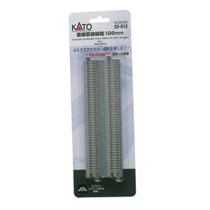 "Kato N scale 20-012 7-5/16"" Concrete Tie Double Track Unitrack (2-pack)"
