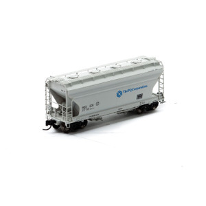 Athearn N 12267 The PQ Corporation ACF 2970 2-bay Center Flow Hopper #231 N-scale