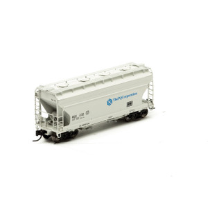 Athearn N 12268 The PQ Corporation ACF 2970 2-bay Center Flow Hopper #232 N-scale