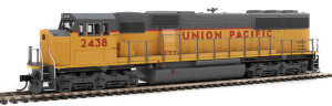 Walthers Mainline 910-9711 Union Pacific EMD SD60M #2438 DC HO