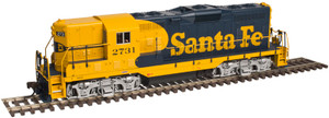 Atlas 10002032 Santa Fe GP-7 #2712 GOLD DCC/Sound HO