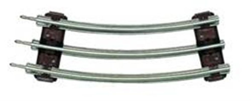 Lionel O 6-65014 1/2 Curved Track Section