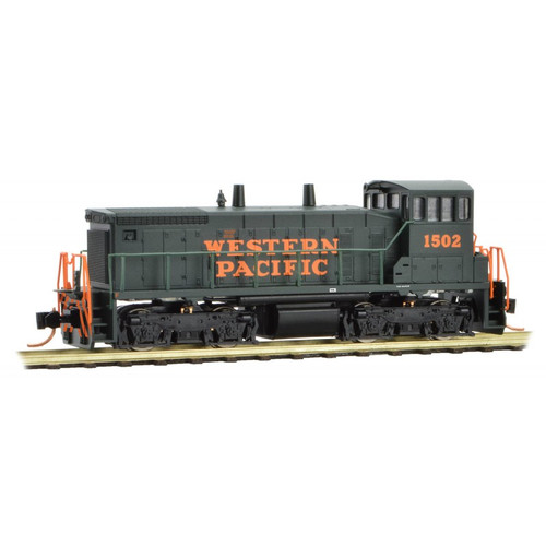 Micro-Trains 986 00 112 Western Pacific SW1500 #1503 DC N scale