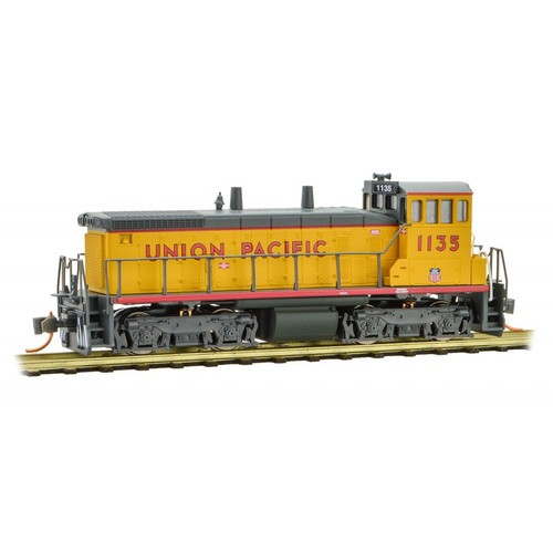 Micro-Trains 986 00 571 Union Pacific SW1500 #1135 DC N scale