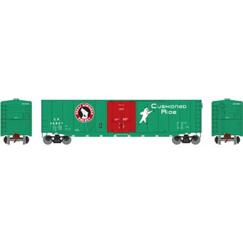 Roundhouse 15725 GN 50' Plug Door Smooth Side Box #36827 HO