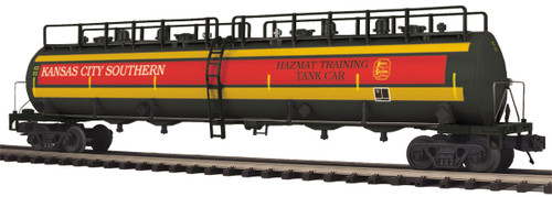 MTH O scale 20-96731 KCS 20,000 gal 4-compartment Tank Car #973