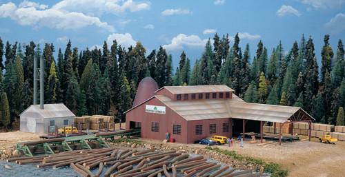 Walthers Cornerstone 933-3236 Mountain Lumber Co. Sawmill N scale