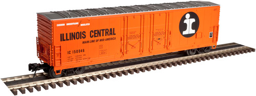 Atlas O 3002319-01 Illinois Central #150046 53' Evans Double Plug-Door Box Car 2-rail