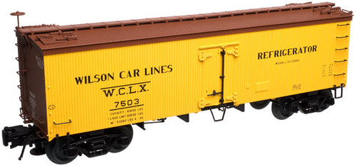 Atlas O 3001414-01 Wilson Car Lines #7503 36' Wood Reefer
