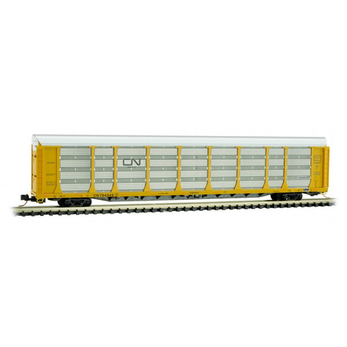 Micro-Trains 111 00 300 CN Canadian National 89' tri-level Auto Rack #704345 N scale