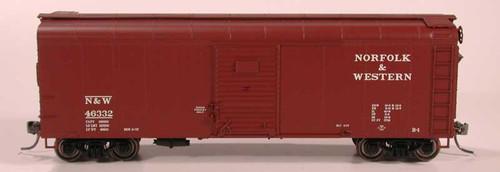 Bowser 41054 N&W X31a Box Car #46336 HO scale