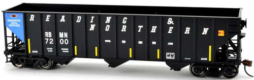 Bowser 40215 Reading & Northern H43 100 Ton 3-bay Hopper #7209 RTR HO scale