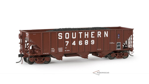 """Arrowhead Models ARR-1007-6 Southern Bethlehem Steel Co """"Committee Design"""" Hopper #74714 HO scale"""