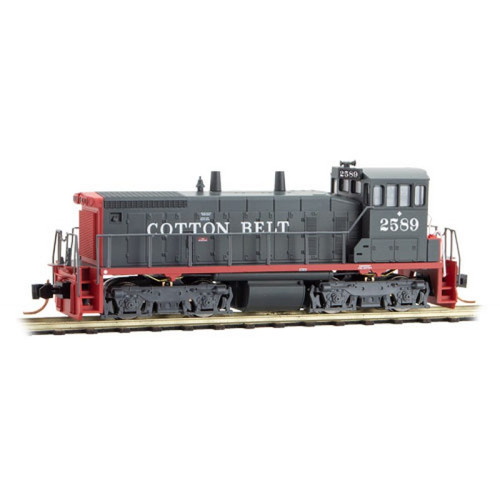 Micro-Trains 986 00 582 Cotton Belt SW1500 #2589 DC N scale