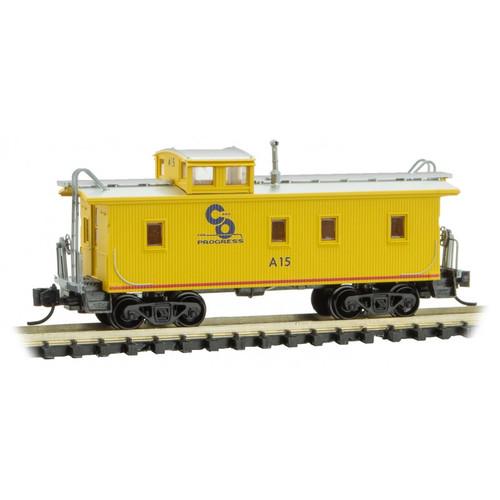 Micro-Trains 051 00 330 C&O 34' wood sheathed Caboose #A15 N scale