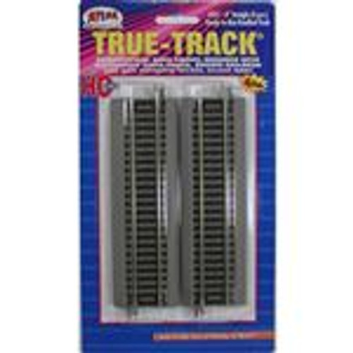 "Atlas 451 True Track Code 83 6"" Straight Track 4-pack HO"