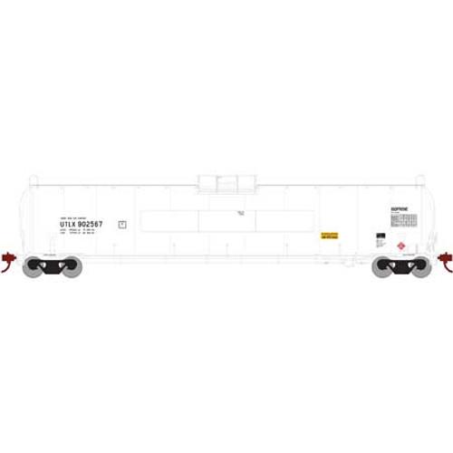 "Athearn Genesis 25600 UTLX 33,900-Gallon LPG Tank/Late ""Flat Panel"" #902567 HO"