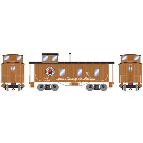 Roundhouse 17947 Northern Pacific 30' 3-window Caboose #1265 HO
