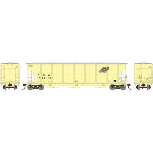 Athearn RTR 81508 CNW FMC 4700 cf Covered Hopper #178619 HO