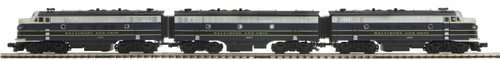 M-T-H O scale 20-20155-2 Baltimore & Ohio F3ABA set PS2 Scale Wheels, 2-rail,