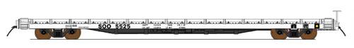 Intermountain 46420-01 Soo Line 60' Wood Deck Flat Car  #5501  HO