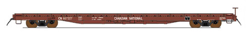 Intermountain 46421-02 Canadian National 60' Wood Deck Flat Car  #667090  HO