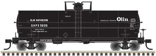 Atlas HO 20004675 Olin Chemicals 11K Tank Car #5626