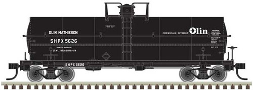 Atlas HO 20004676 Olin Chemicals 11K Tank Car #5644
