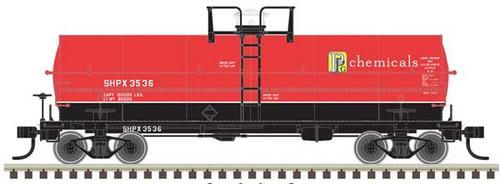 Atlas HO 20004677 PPG Chemicals 11K Tank Car #3536