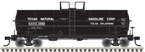 Atlas HO 20004679 Texas Natural Gasoline 11K Tank Car #3550