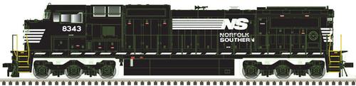 Atlas 10003121 NS Norfolk Southern Dash 8-40CW #8343 DC HO