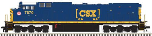 "Atlas 10003137 CSX ""Monon"" Heritage Dash 8-40CW #7670 DCC Sound HO"