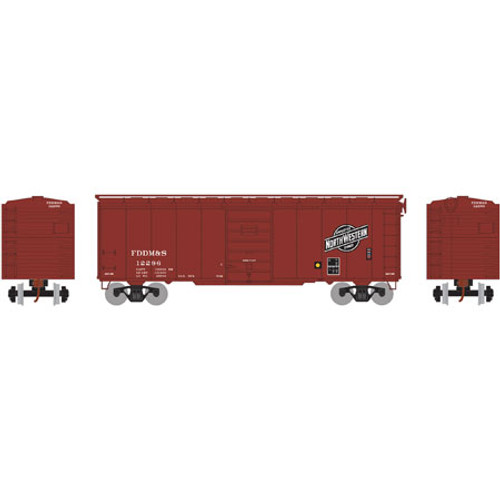 Athearn RTR 73574 CNW/FDDM&S 40' Superior Door Box Car #12296 HO scale