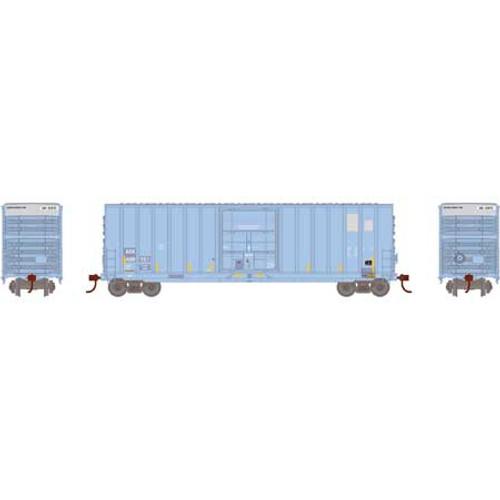 Roundhouse 1059 AOK 50' Ext Post High Cube Plug Door Box Car #409151 HO