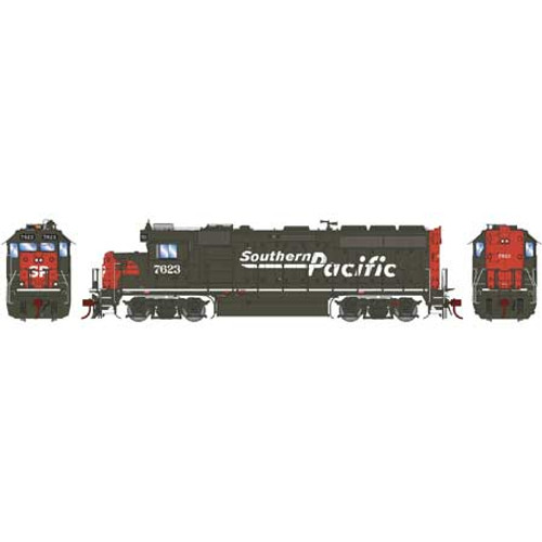 Athearn Genesis 65053 SP Southern Pacific GP40-2 #7623 DC HO