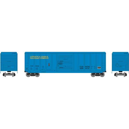 Athearn RTR 28728 Corinth & Counce 50' PS 5344 Box Car #6358 HO scale