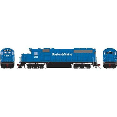 Athearn Genesis 65162 B&M Boston & Maine GP40-2 #313 DCC Sound HO