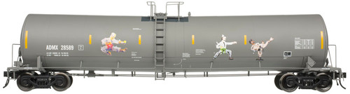 Atlas HO 20006351 ADMX Kung Fu Graffiti Trinity 25,500 gal Tank Car #28589
