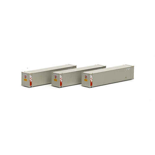 Athearn 17675 Sealand 45' Container 3-pack N scale