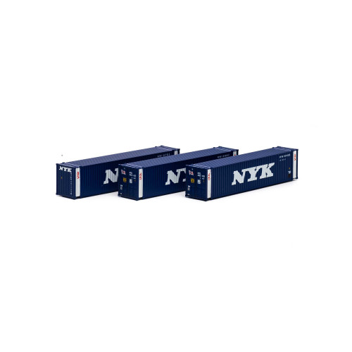 Athearn 17671 NYK 45' Container 3-pack N scale