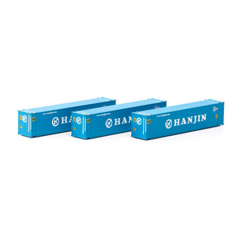 Athearn 17669 Hanjin 45' Container 3-pack N scale