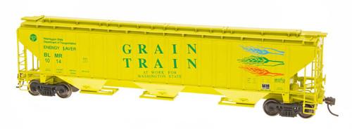 Intermountain 45330-09 Grain Train #1003 4750 CF Rib-Sided 3-bay Hopper NEW Date 5-78 HO