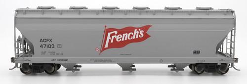 Intermountain 47085-02 French's 4650 cf 3-bay Hopper #47102 HO